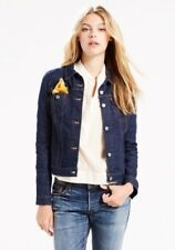 LEVI'S WOMEN'S ORIGINAL TRUCKER JEAN JACKET, Small, Authentic BRAND NEW