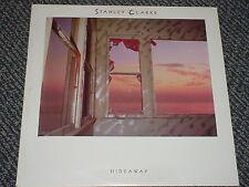 STANLEY CLARKE - HIDEAWAY - OOP 1986 EPIC FE 40275  LP EX NM