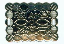 Concho Conchas Conchos  Western Nieten Indianer 41 x 31 mm