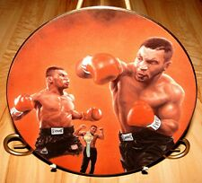 MIKE TYSON BOXER Boxing Celebrity Impressions Collector Plate