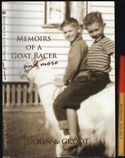 Signed MEMOIRS of a GOAT RACER Goat Racing in Australian Bush Country Towns