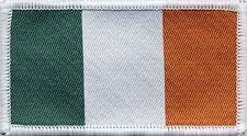 Irish Flag Ireland Woven Badge, Patch 8cm x 4.5cm