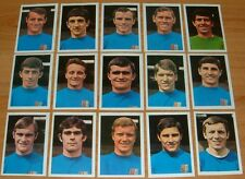 FKS AGEDUCATIFS PANINI FOOTBALL ENGLAND 1968-1969 IPSWICH TOWN COMPLETE