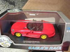 EAGLE RACE 1/43 DODGE VIPER RT/10 CABRIOLET 1996 ROUGE/JAUNE !!!