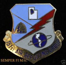 151ST AIR REFUELING GROUP HAT PIN US AIR FORCE VETERAN GIFT KC-135 AFB ANG WING