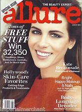 Allure magazine Kate Beckinsale Hollywood skin care favorites Marilyn Monroe