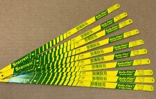 """(10 Pcs) Starrett SF1218 Safe-Flex 12"""" bi-metal hacksaw blades"""