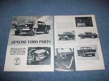 """1957 Ford Custom Tudor Sedan Vintage Street Freak Article """"Genuine Ford Parts"""""""