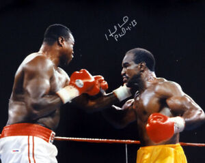 EVANDER HOLYFIELD AUTHENTIC AUTOGRAPHED SIGNED 16X20 PHOTO PSA/DNA 58680