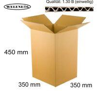 BRAUN 40 Faltkartons 350x350x100mm B-410g//m2  Versandkarton Falt Kartons