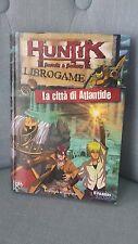 """LIBRO Game Librogame HUNTIK """"La città di Atlantide"""" 1  ED. FABBRI  2009"""