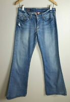Lucky Brand Jeans Women's 6/ 28 Sweet N Low Ring Spun Dungarees Denim Blue Jeans