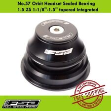 "FSA No.57 Orbit Sealed Bearing 1.5 ZS 1-1/8""-1.5"" Tapered Integrated Headset"