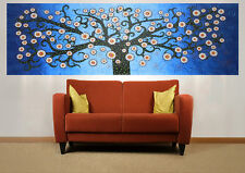Huge Fine Large Art Painting Tree Blue Landscape  modern by Jane Crawford