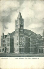 Shreveport LA High School c1910 Postcard