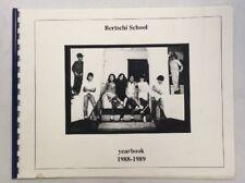 1988-1989 Bertschi School Yearbook Seattle Washington Autograph Preownedbook.com