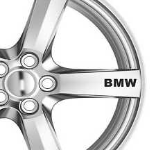 6x BMW Alloy Wheels Decals Stickers Adhesives Premium Quality Graphices
