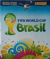 Panini official Sticker Album FIFA World Cup Brasil 2014 mit 6 Stickern (1)