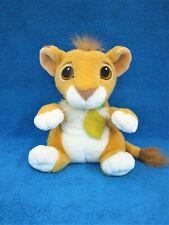 Disney Lion King Simba Talking Cub Plush 1993 By Mattel - Mint !