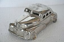 1930's Old Brass Handcrafted Car Shape 5 Compartment Betel Nut Box