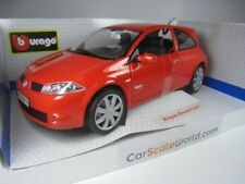 RENAULT MEGANE RS 2004 1/18 BBURAGO (ORANGE)