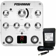 Fishman Aura Spectrum DI / Pre-Amp for acoustic guitar w/9v power supply