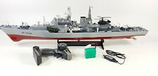 2.4G HUGE Radio Control RC Naval Nuclear Destroyer Model Toy Battleship Boat War