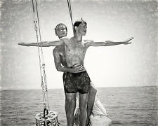 King of the World Boys Fine Art Male Print 8x10 Gay MT