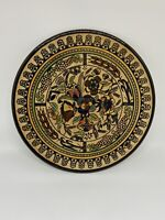 1950s Armenian Tamimi Porcelain pottery plate Stamped Perfect Condition