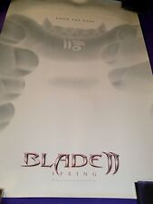 Blade 2 Promotional One-Sheet Movie Poster (2002 Marvel) Size 27 in. x 40 in.