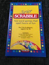 Junior Scrabble, Instructions Booklet. Genuine Spears Games Part.