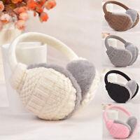 New Women Girls Winter Warm Knitted Earmuffs Ear Warmers Ear Muffs Earlap
