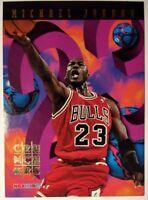 Michael Jordan 1995-96 Hoops Number Crunchers #1, Rare Insert, Chicago Bulls HOF