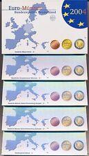Spiegelglanz BRD-Kursmünzensätze in Euro-Währung