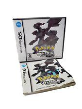 Pokemon White Version ☆BOX CASE & COVER ART ONLY☆ (Nintendo DS, 2011)