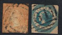 VICTORIA 1854 - 61 WOOD BLOCKS