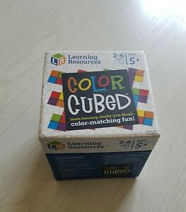 Learning Resources Color Cubed Strategy Game