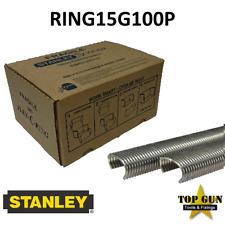 Stanley Spenax Flex C-Ring RING15G100P Galvanised Hog Rings