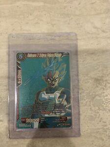 DBS Universe 7 Saiyan Prince Vegeta TB1-004 SPR Tcg (Never Played)(Near Mint)