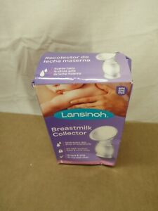 Lansinoh Breastmilk Collector Simple & easy to use and clean New damaged box
