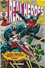 Real Heroes Captain America and Daredevil - Marvel Comics 1994 - Pizza Hut Promo