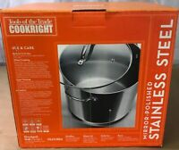 Tools Of The Trade Cookright 16 Quart Stainless Steel Covered  Pot W/box J7