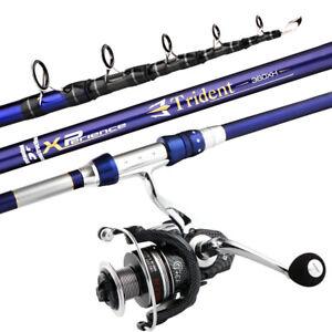 Carbon Telescopic Sea Fishing Rod Surf Spinning Rod Bass Carp Fishing 50-120g