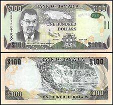 Jamaica 100 Dollars Banknote 2016 P 95b Unc