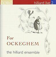 The Hilliard Ensemble - For Ockeghem: Hilliard live 2 (CD) (2007)