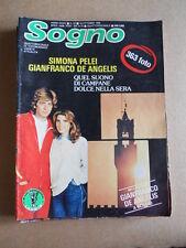 SOGNO Fotoromanzo n°20 1980 ed. Lancio  [G579]