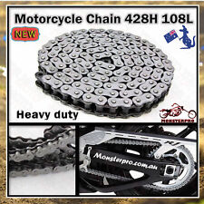 428H 108 Links Chain ATV QUAD Bike Gokart Buggy Dirt Pit trail  ATV Quad