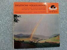 Deutsche Volkslieder Record Vinyl 7 Inch 20 027 EPH Polydor