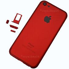iPhone 5 → 7 Look Aluminium Rahmen Rückseite Rot Gehäuse upgrade NEU