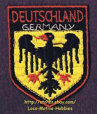 LMH PATCH Woven Badge  DEUTSCHLAND  Bundesadler GERMANY  COAT ARMS Federal Eagle